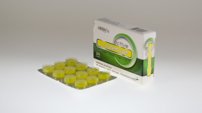 PHARMAMED / HERBIFIT LOZENGE ACTIVE