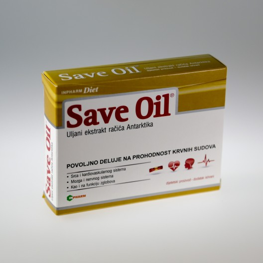 ATEROSKRELOZA / SAVE OIL SOFTGEL